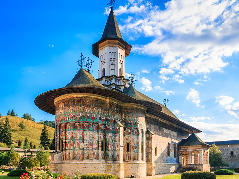Bucovina's painted monasteries, unique monuments in the world
